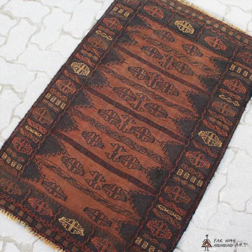 Semi-antique Baloch Tribal Kilim Rug