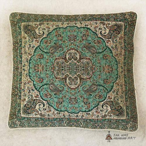 Persian Termeh pillow cover