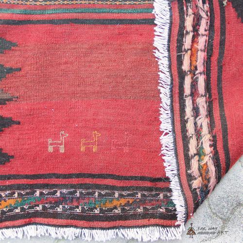 Persian Nomadic Rug / Baluch Sofreh tribal rug baluch sofreh2 farwayart
