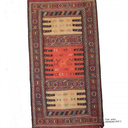 Persian Nomadic Rug tribal rug for sale2 farwayart