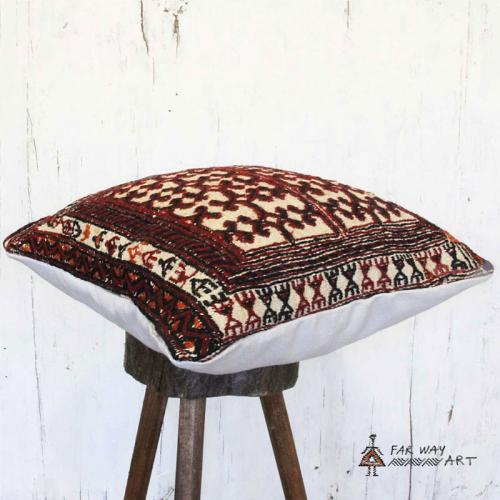 Tribal Rug Pillow With A Unique Design tribal rug pillow2 farwayart