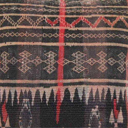 Antique Baloch Tribal Rug Pillow tribal rug pillow4 farwayart