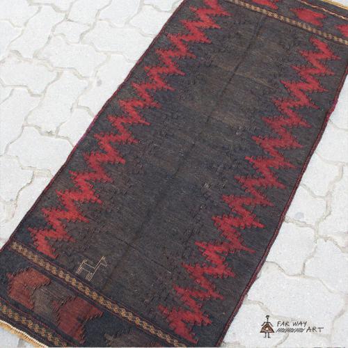 Unique Persian Tribal Kilim rug