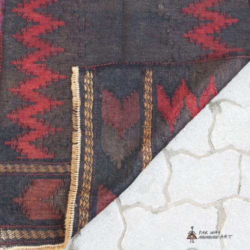 Unique Persian Tribal Kilim rug unique persian tribal rug3 farwayart