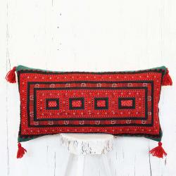 Persian tribal hand embroidered pillow