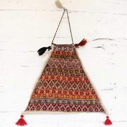 Persian Tribal salt bag wall hanging