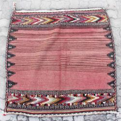 Pink Antique Persian Tribal Rug