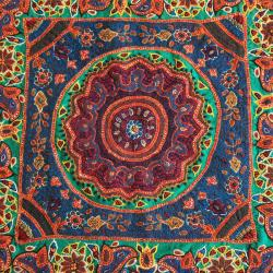 Hand Embroidered Mandala Tapestry Wall Hanging