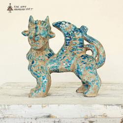 Decorative Persian Ancient Creature Pottery Sculpture