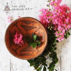 Indigenous Decorative Pottery Plate