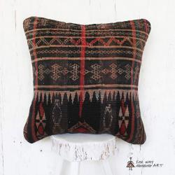 Antique Baloch Tribal Rug Pillow