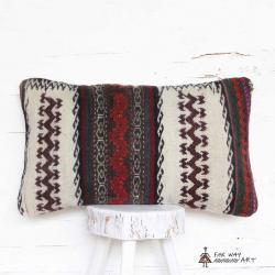 Handmade Tribal Rug Pillow Cover