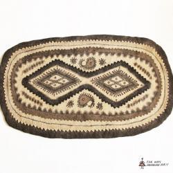 Persian Handmade Wool Felt Rug