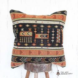 Persian Vintage Kilim Pillow Cover