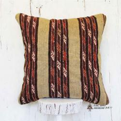 Striped Persian Tribal Kilim Pillow