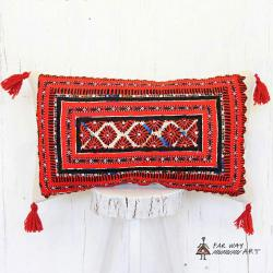 Tribal Needlework Pillow