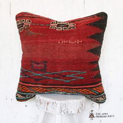 Vintage Tribal Kilim Pillow no.1