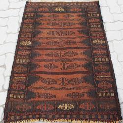 Semi-antique Baloch Tribal Kilim Rug