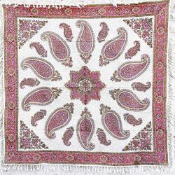 Pink Handprint Mandala Wall Hanging