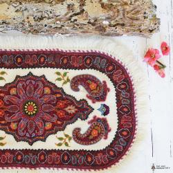 Persian Ethnic Hand Embroidered Textile