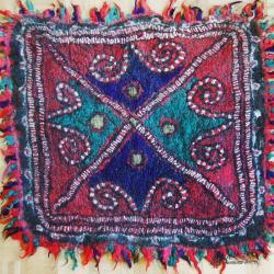 Persian handmade felt rug