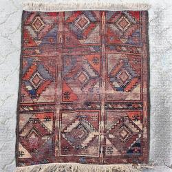 Persian Antique Tribal Rug Wall Hanging