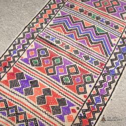 Vintage Persian Tribal Runner Rug