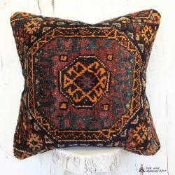 Persian Antique Carpet Pillow
