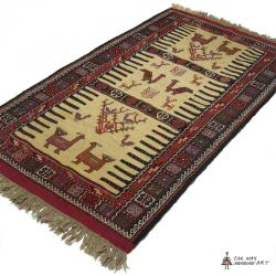 Persian tribal Rug (Kurdish Sofreh)