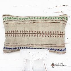 Antique Lumbar Kilim Pillow