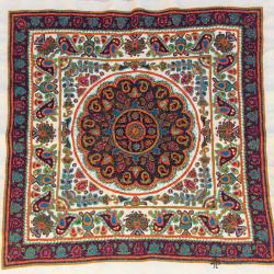 Ethnic Hand Embroidery Mandala Tapestry
