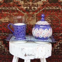 Meenakari Tea Set