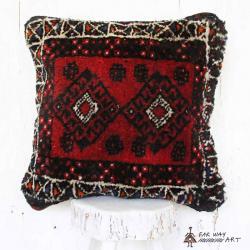 Persian Vintage Carpet Pillow