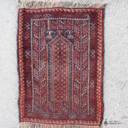 Persian Small Semi-antique Carpet