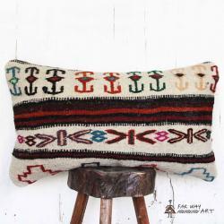 Handmade Tribal Kilim Pillow Cover