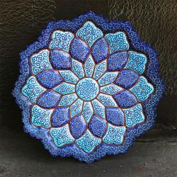 Persian Hand-painted Mandala Plate