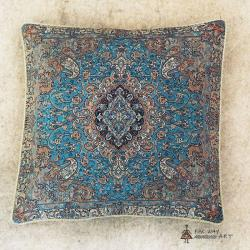Hand-woven Termeh cushion cover
