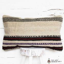 Minimal Tribal Handmade Kilim Pillow
