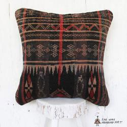 Antique Baloch Tribal Rug Pillow