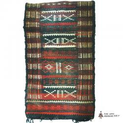 Persian antique tribal rug (Nomadic Baluch Bag )