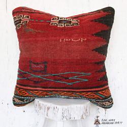 Vintage Tribal Kilim Pillow no.1