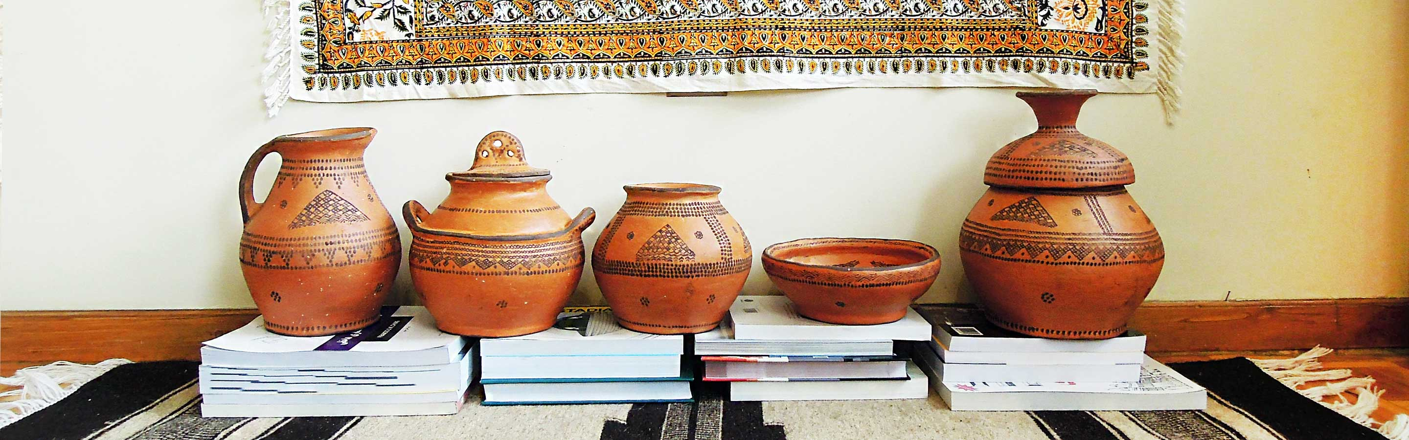 Tribal pottery